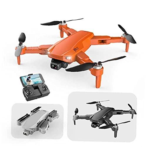 GAOFQ Mini GPS Drone S608 Quadcopter Pieghevole con Fotocamera FPV HD grandangolare Multiuso modalità di Mantenimento dell'altezza Arancione