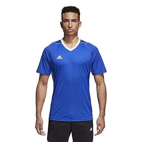adidas Tiro 17 Mens Soccer Jersey XL Bold Blue-White