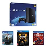 Pack PS4 Pro 1 To + Marvel's Spiderman + God of War + Call of Duty Black Ops 4