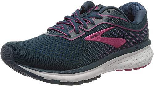 Brooks Damen Ghost 12 Running Schuh, Mehrfarbig (Majolica/Mehrfarbig/Beetroot), 39
