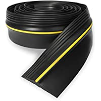 Eapele 10ft Garage Door Threshold Seal Weatherproof Easy Cut Replacement Strip