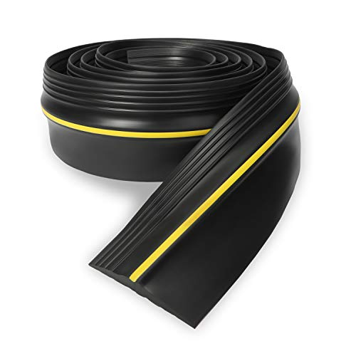 Eapele 20ft Garage Door Threshold Seal Weatherproof Easy Cut Replacement Strip