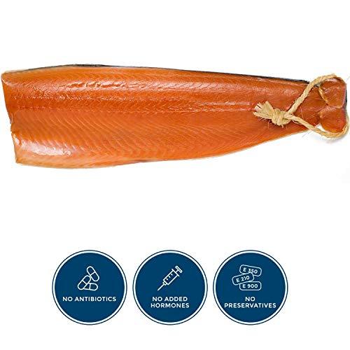 puissant Saumon fumé avec ficelle (650 g) – livraison express