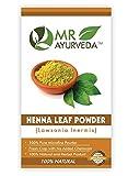 MR Ayurveda 100% Organic Herbal Henna Powder for Hair   Lawsonia Inermis   Natural Hair Care   Hair...