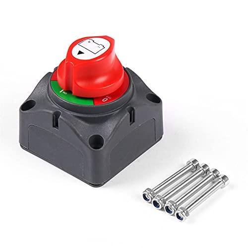 DunMenEn 12V-60V 100A-300A Selector de batería Aislador Desconecte el Interruptor Giratorio Cortado de Corte para automóvil Auto RV Barco Marino DunMenEn