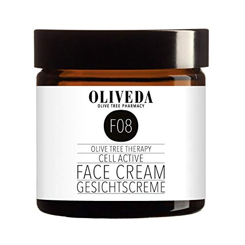 Oliveda F08 - Gesichtscreme Cell Active + Sheabutter | für anspruchsvolle Haut | Tagescreme + hohe Wirkstoffkonzentration + verlängert die Lebensdauer der Zellen | mit organischen Inhaltsstoffen - 100 ml