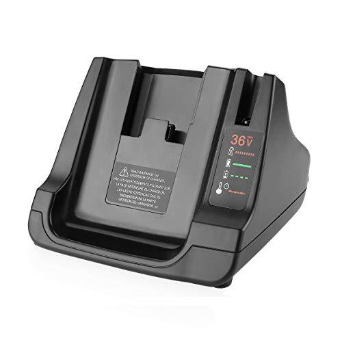 Energup - Cargador de repuesto BDC2A36 / LCS36 para Black + Decker 36 V BDC2A36 LCS36 LCS40 36 V BL20362 LBX2040 LBX36 LBXR36 LBXR2036