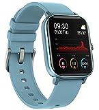 EIGIIS Smartwatch,Reloj Inteligente Impermeable para Hombre Mujer, Pulsera Actividad Inteligente con Monitor de Frecuencia Cardíaca, Monitor de Sueño, Podómetro de Actividad Física