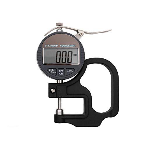 CAIDU Portable Digital Thickness Gage Gauge 0.5 inch/12.7mm   0.0005'/0.01mm, Inch/Metric  ...