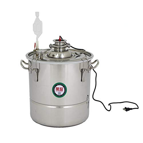 7.9Gal 30L Stainless Steel Brew Fermenter Thermostatic Fermenter Home Brewing Boiling Pot Wine Fermentation or Hard Cider Brewing kit (7.9 Gal / 30L)