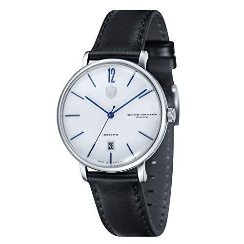 Dufa Deutsche Uhrenfabrik Unisex Analog Quarz Uhr mit Leder Armband Breuer DF-9011-02 Automatik
