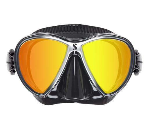 Scubapro Synergy maschera–Colore nero/nero–a specchio–24.713.140