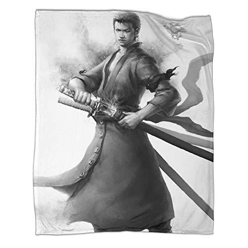 Adecuado para todas las estaciones, manta de cama de lujo de una pieza (130 x 180 cm).