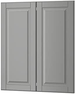 Ikea 2-p door/corner base cabinet set, gray 13x30