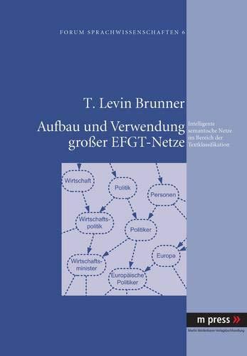 Aufbau und Verwendung großer EFGT-Netze: Intelligente semantische Netze im Bereich der Textklassifikation