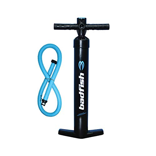 Badfish Dual Action Inflatable Paddle Board Pump (Paddle Board Accessory)