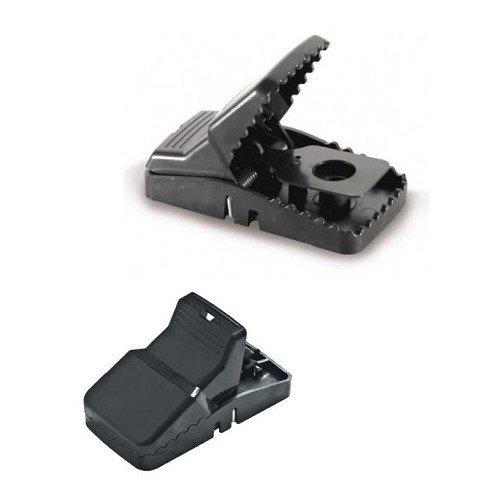 N ° 24 pièges à clipser pour souris souris Snap Trap 10 x 4,5 x 5, 5 cm