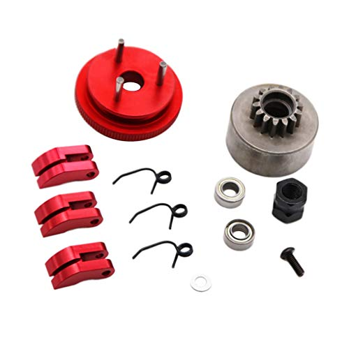Hlyjoon Car Aluminium Kick Start Shaft Idler Gear Assembly Set Fits pour Scooter GY6 50CC 80CC 139QMB Scooter Cyclomoteur
