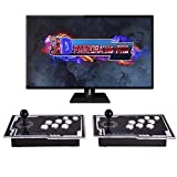 【3399 Games in 1】Pandora Treasure 3D Arcade Game Console 11S Full HD Retro Video Arcade Game Console 2 Players with Two Separate Joysticks 3D Pandora's Box with 3399 Retro Games for PC/Laptop/TV/PS3