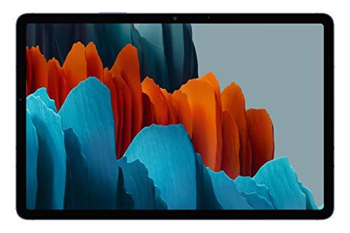 Samsung Galaxy Tab S7 - Tablet de 11' con pantalla QHD (Wi-Fi, Procesador Qualcomm Snapdragon 865+, RAM de 6GB, ROM de 128GB, Android 10 actualizable) - Color Azul [Versión española]