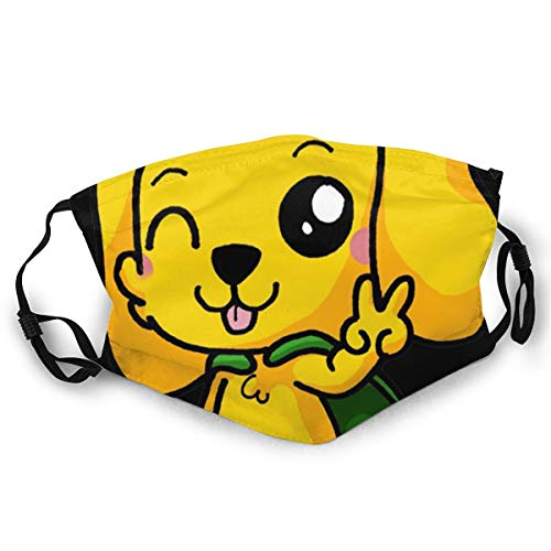 Mikecra-Ck Unisex Face and Mouth Cover Adult Dust Mask, Neck Gaiter Scarf Bandana Handkerchief for Festival Party Motorcycle Riding Fishing Outdoor.
