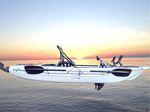 Fishing Tackle-GP Kajak 332 Festrumpf Propeller-Antrieb für Wassersport u. Angeln