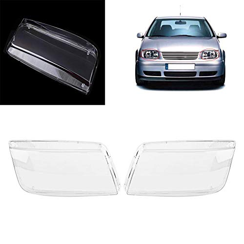 Koplamp Cover Fit voor MK4 Jetta Bora 1998-2004, Koplamp Koplamp Cover Vervanging Transparante Plastic Koplamp Cover
