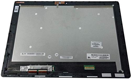 """12.0"""" FHD 1920x1080 IPS LCD Panel Replacement LED Screen Display with Touch Digitizer and Bezel Frame Assembly fit HP Spectre X2 Detachable 12-a009TU 12-a010TU P/N: 830345-001"""