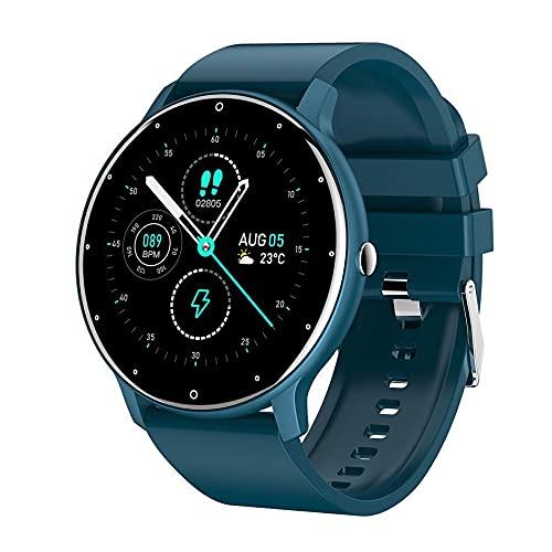 Libarty Reloj Inteligente ZL02 Reloj Deportivo de Pantalla Completa Reloj Deportivo IP67 Recordatorio de información a Prueba de Agua Reloj Multifuncional
