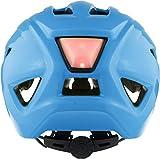 ALPINA Unisex - Kinder, PICO FLASH Fahrradhelm, neon blue gloss, 50-55 cm - 4