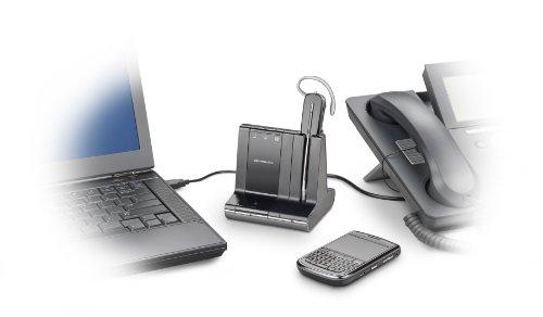 Plantronics Savi 740 Wireless Headset System for Unified Communication