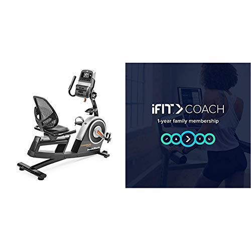 NordicTrack NTEX76016 Commercial Vr21 Recumbent Bike with iFit 1-Year Individual Membership-Free Trial [Subscription]