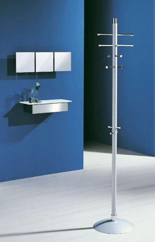 Pador Concept GmbH D-TEC - Appendiabiti di alta qualità (argento/cromato)