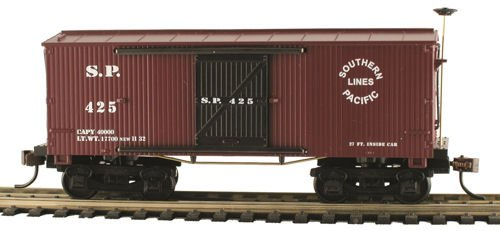 Model Power CSM721011 HO Old Time Wood Box, SP -  Model Rectifier Corporation