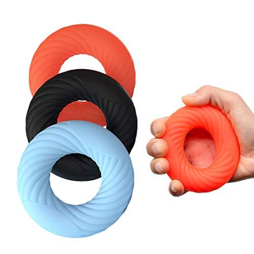 Evelure 3 Pezzi Hand Grip Strengthener, Hand Trainer di Alta qualità, Allenamento Presa Avambraccio, Alleviare Il Polso e Il Dolore al Pollice Tunnel Carpale