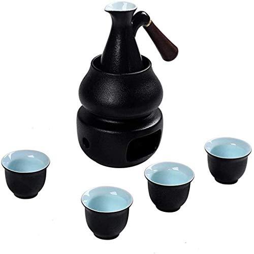 pivfedqx exquisite black glaze sake