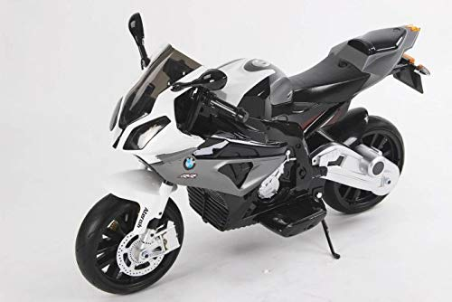 BMW S 1000 RR Motocicleta eléctrica de Juguete para niños con batería,...