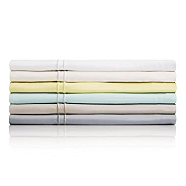 MALOUF 100% Rayon from Bamboo Sheet Set - 4-pc Set - Queen - White