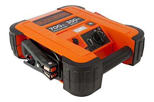 Black + Decker BDJS350 Booster batterie - 350 A - USB Port 2,1 AMP