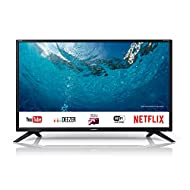 Sharp 1T-C32BC2KH1FB 32 Inch HD Ready LED Smart TV with Freeview Play, 3 x HDMI, Mini SCART, USB Med...