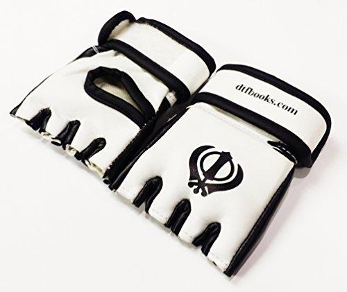 Sikh Khanda Miniatur MMA Handschuhe Rückspiegel Abbildung 2