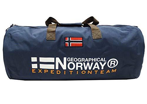 Geographical Norway Borsone Seoul Palestra e Viaggio Uomo-Donna 65x30x30 cm WR600ACC/GN (Blu Notte)