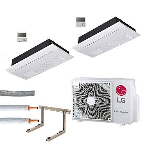 Klimaanlage Komplettset Multisplit LG 1-Weg Kassette 2x2,6kW