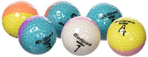 Nitro Golfbälle Blaster (6 Pack), mehrfarbig