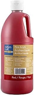 Artist's Loft Flow Acrylic, Red, 32