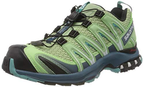 Salomon Damen Trail Running Schuhe, XA PRO 3D W, Farbe: grau (spruce stone/indian teal/meadowbrook) Größe: EU 40 2/3