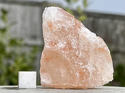 Halite (sel gemme) - Pierre minérale naturelle de guérison - Certifiée RSA603 SilverGeo® - 100 % authentique.