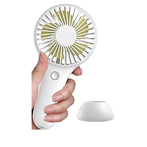 Draagbare USB-ventilator elektrische handheld kleine ventilator voor kantoor gadgets Oplaadbare handige mini-USB-ventilator zomer koeler ventilator