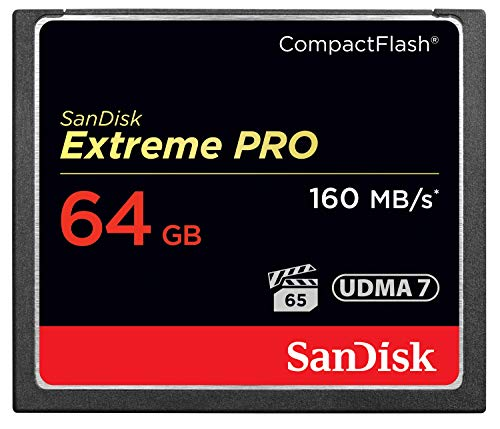 SanDisk Extreme PRO 64GB Compact Flash Memory Card...
