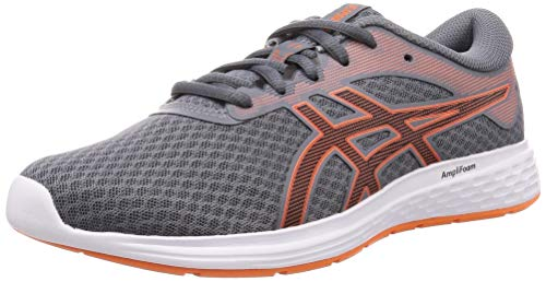 ASICS Herren Patriot 11 Road Running Shoe - Metropolis/ Graphitgrau - 46 EU